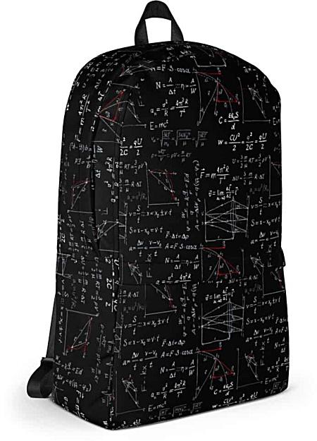 Math & Science Physics Formula Leggings - Capri Crop & Full Length Legging