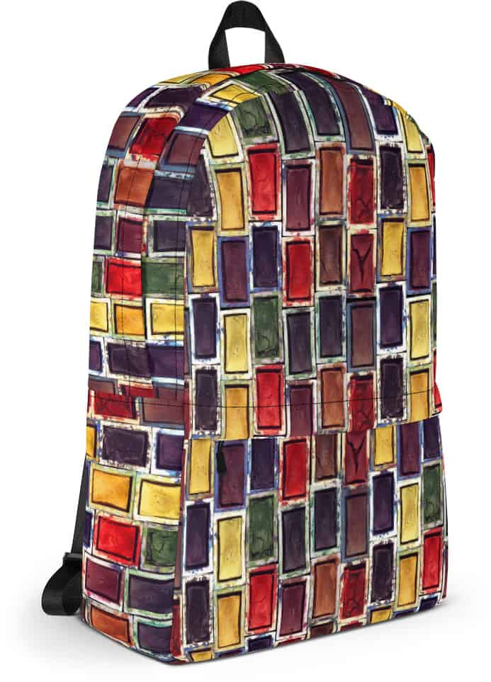 Watercolor Paint Set Texture Backpack for Artists