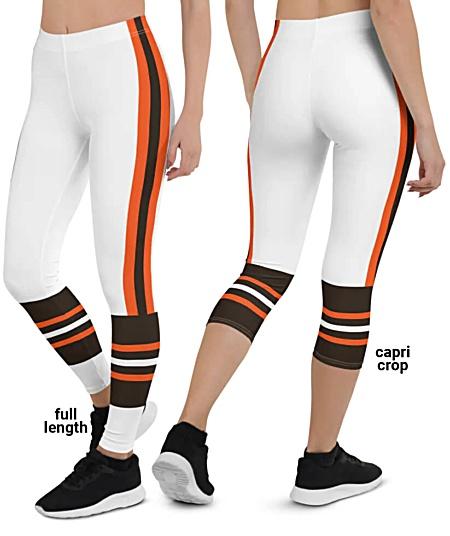 Cleveland Browns NFL Football Leggings