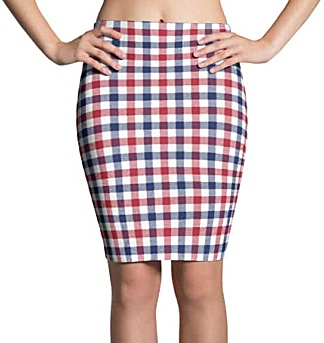 American Flag 4th of July celebration skirt patriot outfits mini skirts & pencil skirts