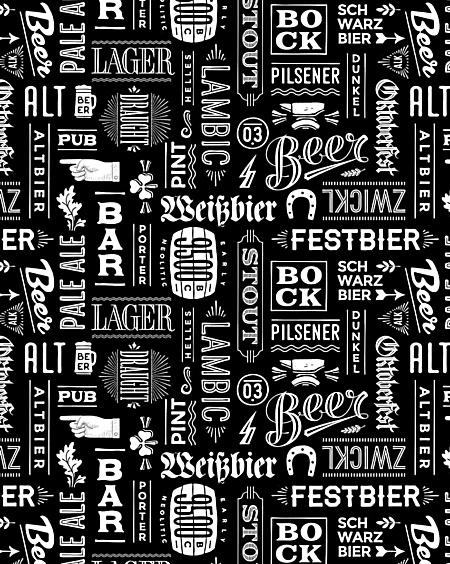 Craft Beer Leggings - ALT PUB Lager Pale ALE IPA Schwarz Oktoberfest