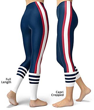 New England Patriots leggings NFL Football Tailgating pants