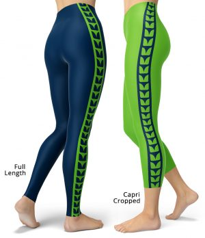 Washington Seattle Seahawks uniform NLF Football Leggings for Tailgating Parties