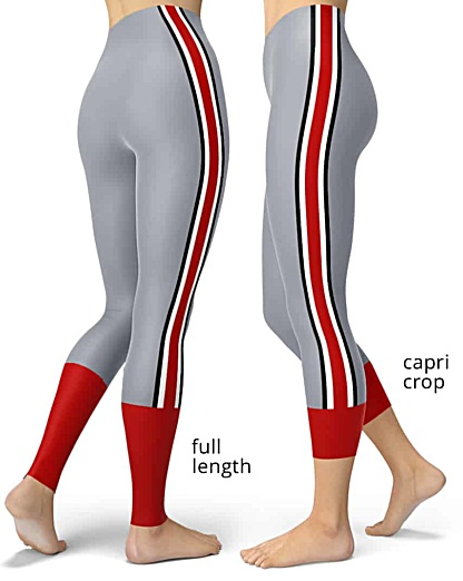 Ohio State Buckeye Leggings