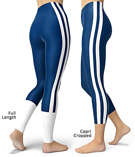 Indianapolis Colts uniform NLF Football Leggings for Tailgating Parties
