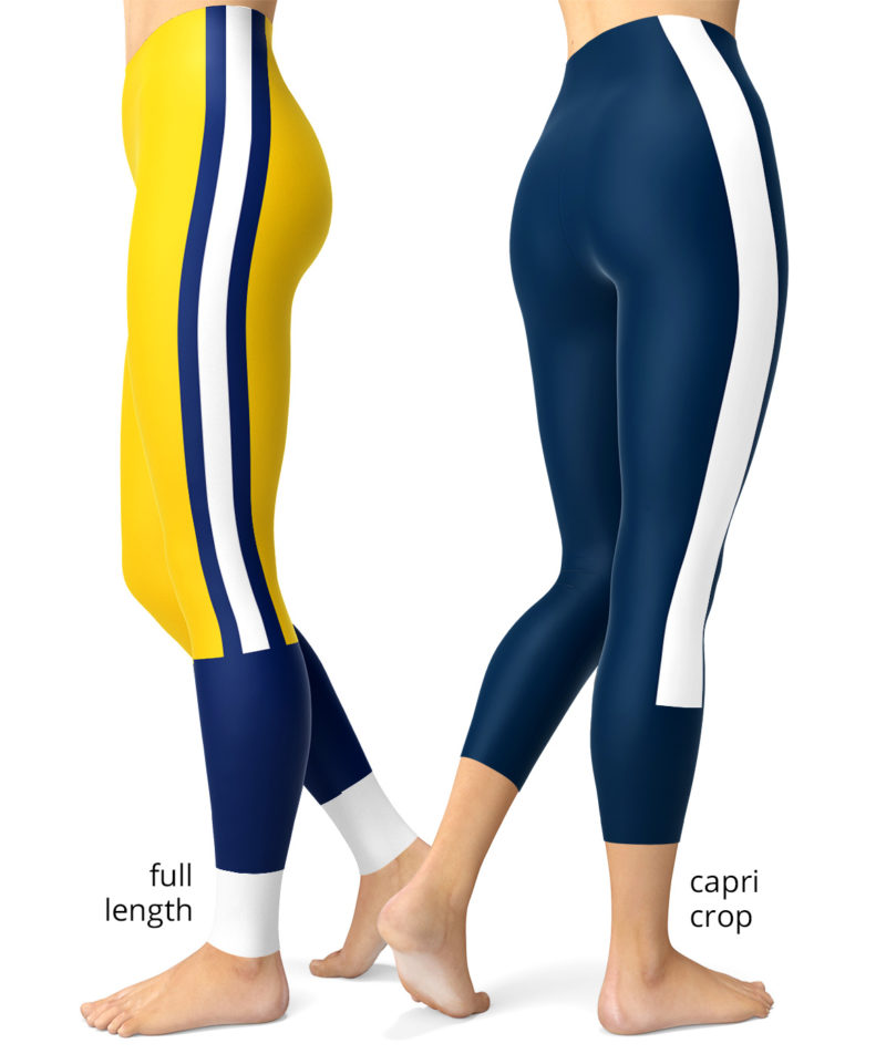 LA Los Angeles Rams Ram uniform NLF Football Leggings for Tailgating Parties