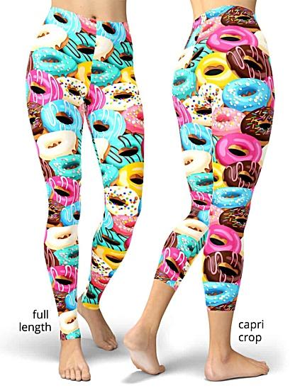 donut Doughnut donuts Doughnuts legging leggings craving crave