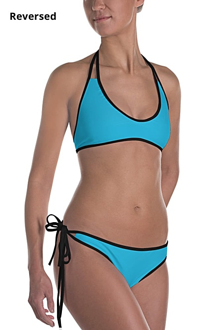 sexy hot halloween costume mermaid bikini bathing suit swimsuit two piece fish scales pink blue