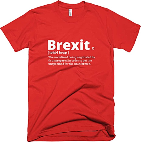 Rude Brexit T-shirt tshirt tee government political