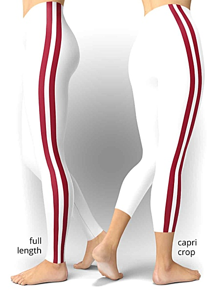 University of Alabama Crimson Tide College Football Leggings