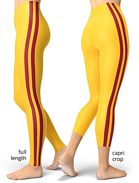 University of Southern California USC Trojans Football Leggings college game