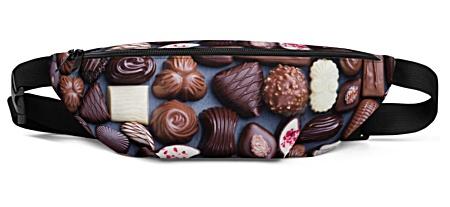 sweet sweets bon bon chocolate candy Fanny Pack bumbag bumbag bag hip packs fanny pack belt