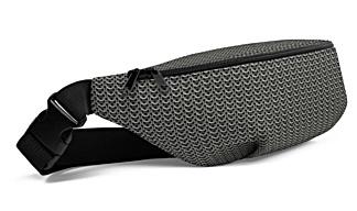 metal chainmail chain mail chains metallic bumbag bumbag bag hip packs fanny pack belt