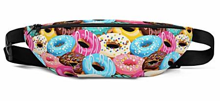 Doughnut Doughnuts Donut Donuts sweets Fanny Pack bumbag bumbag bag hip packs fanny pack belt