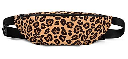 leopard skin leopardskin animal bumbag bumbag bag hip packs fanny pack belt