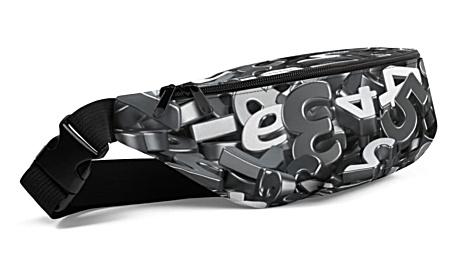 metal metallic letter letters lettering alphebet Fanny Pack bumbag bumbag bag hip packs fanny pack belt