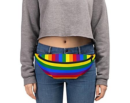 gay pride flag bumbag bumbag bag hip packs fanny pack belt