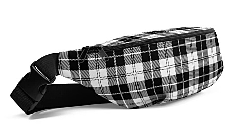 Scottish trendy cool unique tartan plaid Fanny Pack bumbag bumbag bag hip packs fanny pack belt