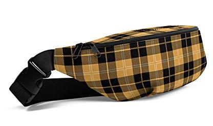 Scottish trendy cool unique tartan plaid Fanny Pack bumbag bumbag bag hip packs fanny pack belt