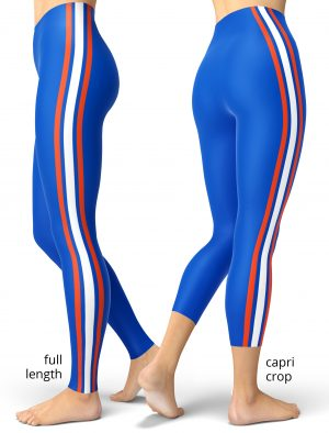 Florida Gators University College Game Day Uniform Leggings Football NFL games sport sports tailgating