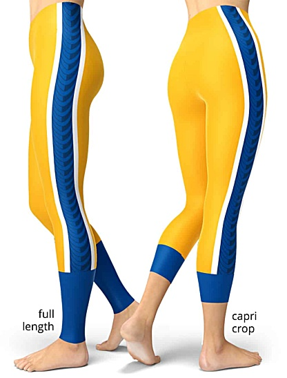 Pittsburgh Panthers Pitt College Football Uniform Leggings