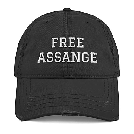 Free Assange Baseball Cap Julian Assange Press Journalist Freedom Wikileaks