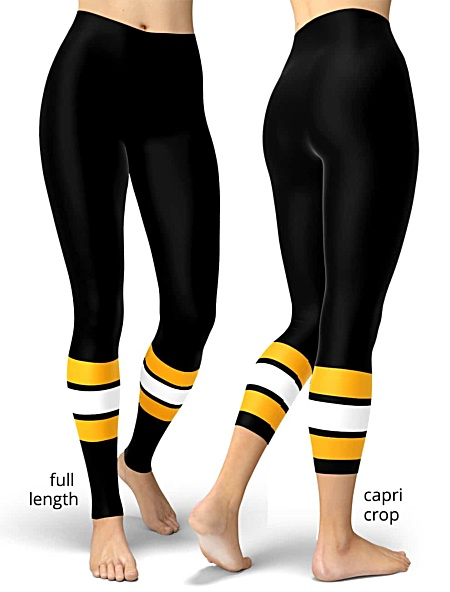 Boston Bruins NHL Hockey Uniform Leggings
