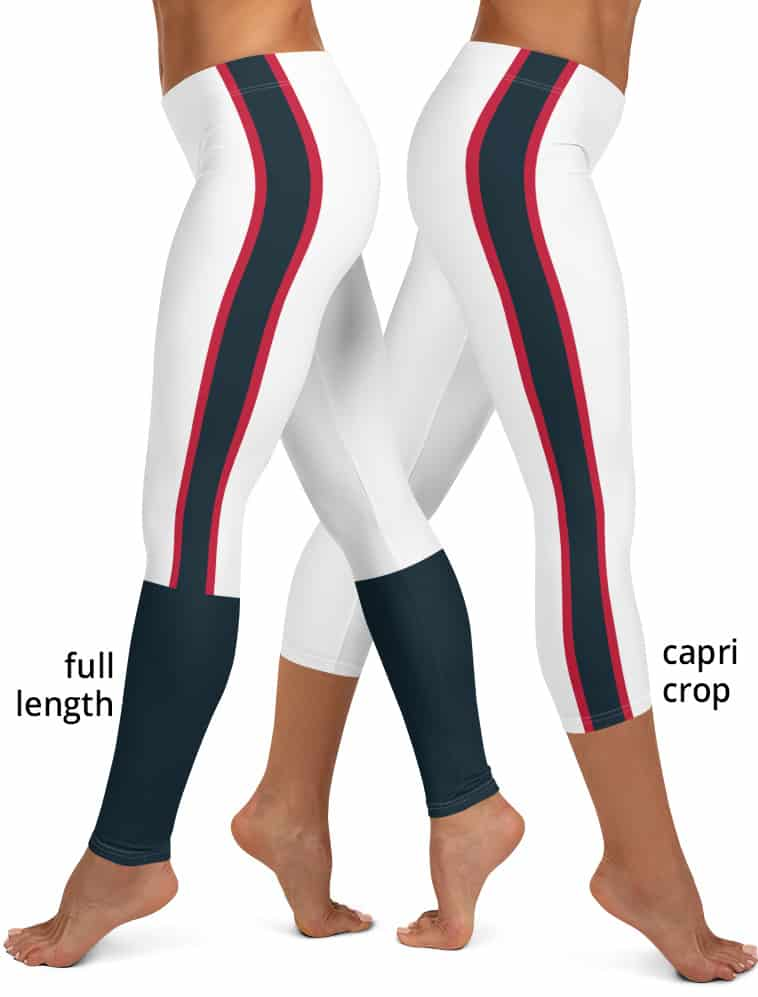 Houston Texans Game Day Uniform Leggings