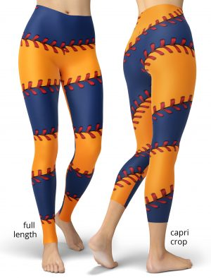 Texas Houston Astro Baseball game Leggings