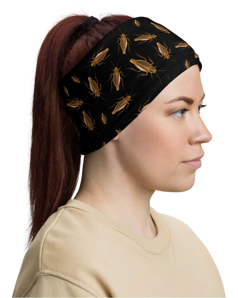 roaches roach bug bugs gross insectsCockroach Face Mask Neck Gaiter headband