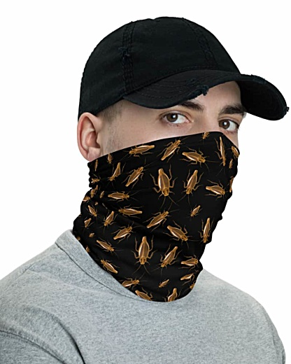 roaches roach bug bugs gross insectsCockroach Face Mask Neck Gaiter headband