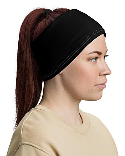 Scary Clown Face Mask Neck Gaiter bandana headband