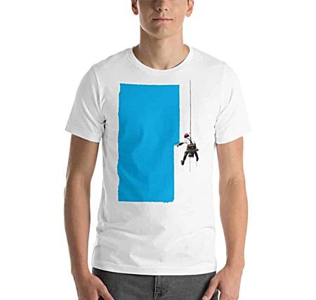 Steeplejack Painter Short Sleeve T-shirt for Men