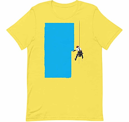 Steeplejack Painter Short Sleeve T-shirt for Men