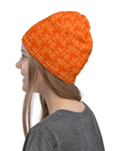 Netherlands Dutch Orange Face Mask Neck Gaiter