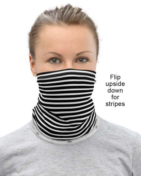 Aviation coronavirus rona protection masksTravelling Alien Passenger Airplane Neck Gaiter