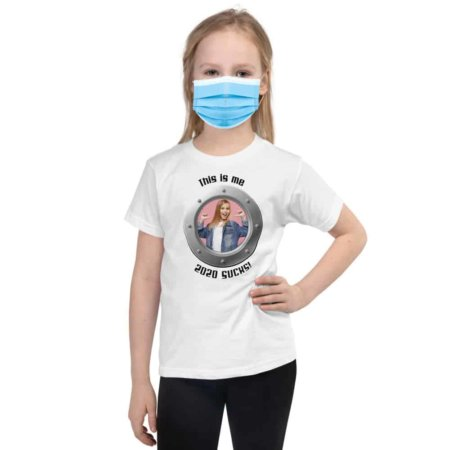 This Is Me / 2020 Sucks / Short Sleeve Kids T-shirt coronavirus rona black white red