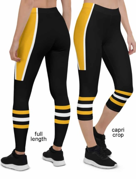 Pittsburgh Penguins NHL Hockey Uniform Leggings