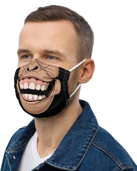 Chimpanzee Protective Face Mask monkey chimp primate coronavirus virus rona covid19