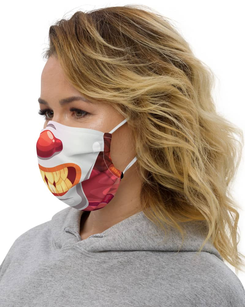 Scary Clown Protective Face Mask