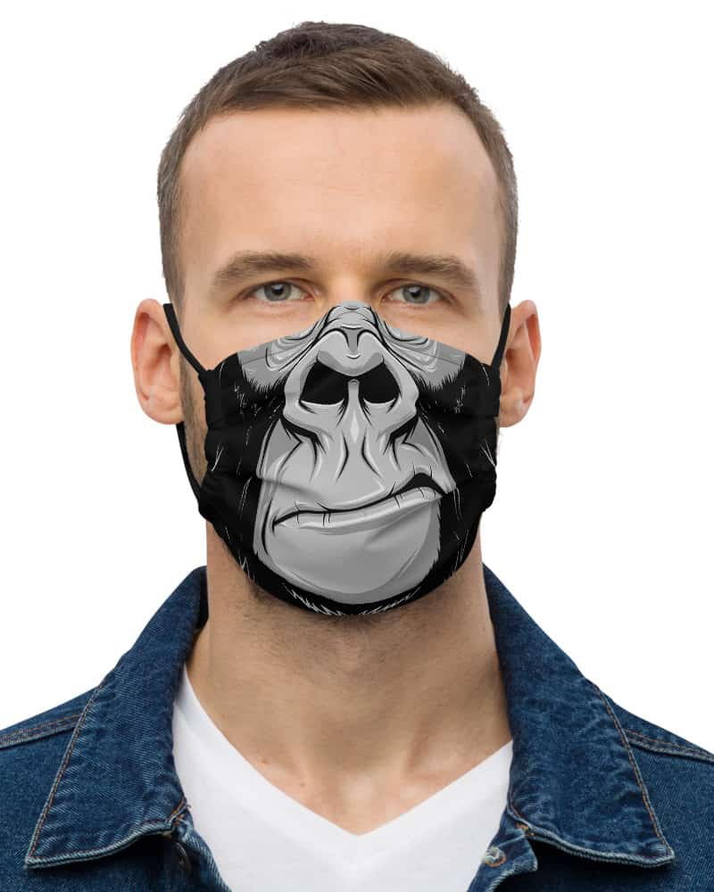 Gorilla Protective Face Mask monkey primate chimp coronavirus virus rona covid19