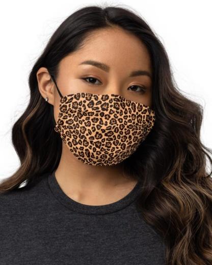 Leopard Skin Protective Face Mask coronavirus virus rona covid19