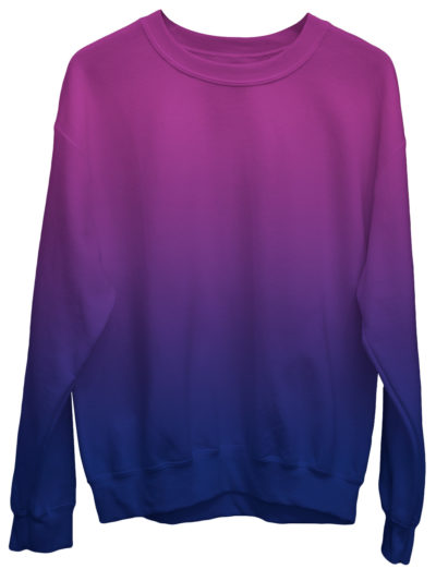 Gradient Sweatshirt / Unisex Size designer fashion color yellow pink purple