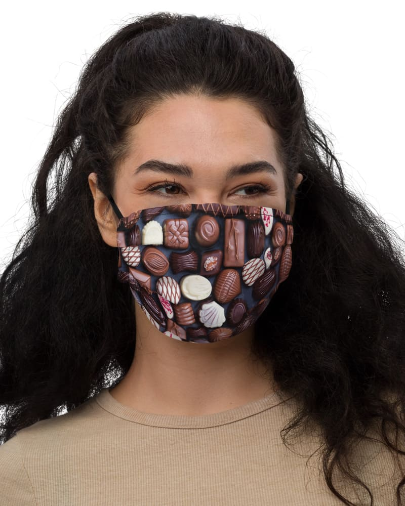 Assorted Chocolates Protective Face Mask anti virus coronavirus covid 19