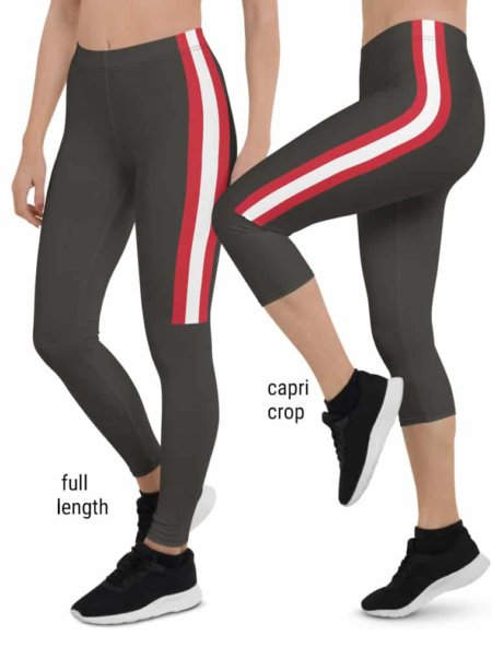 Tampa Bay Buccaneers Game Day Football Uniform Leggings brown Alternate