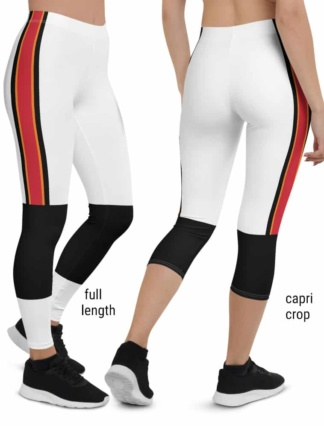 Tampa Bay Buccaneers Game Day Football Uniform Leggings white