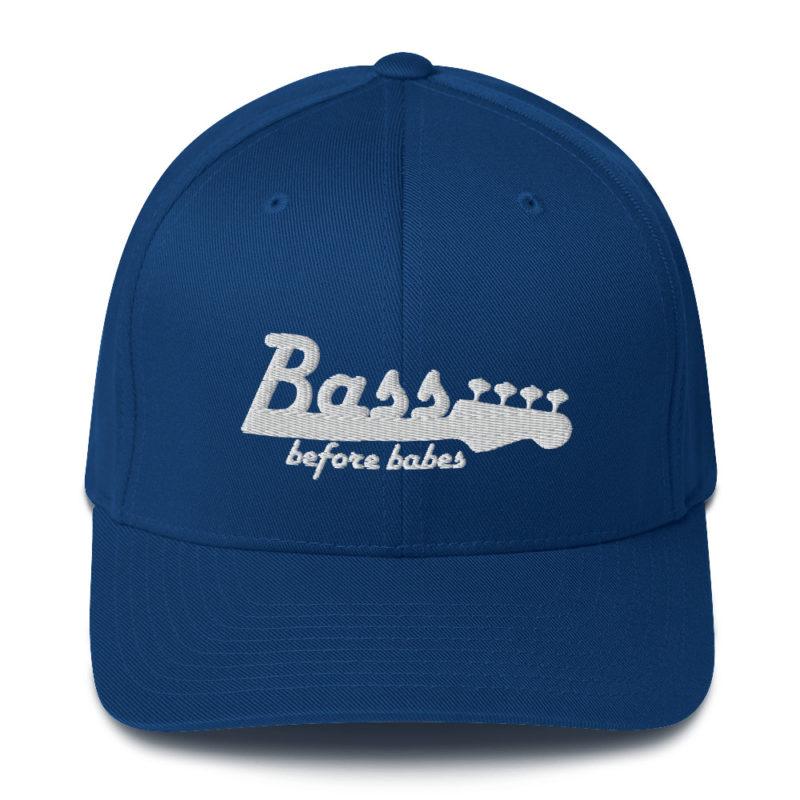 Bass Before Babes Baseball Hat music musician bassist