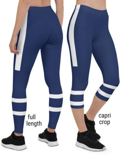 Canada Canadian Toronto Maple Leafs NHL Hockey Uniform Leggings