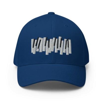 Piano Keys Baseball Hat Pianist Musician cap