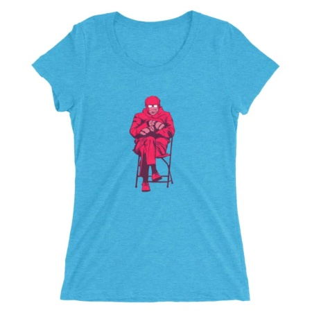 Bernie Sanders Mittens gloves Mem Short Sleeve T-shirt Inauguration Top Pop Art